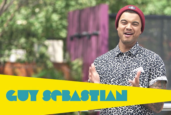 Rockcorps introduction with Guy Sebastian